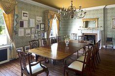 edwardian dining room | The Edwardian property's dining room Cloud 9 Leeds