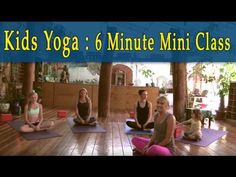 Yoga for Kids with Annie Marks @ Liberation Yoga LA. A fun and exciting yoga for the witching hour 6 minute short class that is a wonderful class for kids of. Yoga For Kids, Exercise For Kids, Cardio Yoga, Childrens Yoga, Sup Yoga, Bikram Yoga, Yoga Photography, Morning Yoga, Yoga Quotes