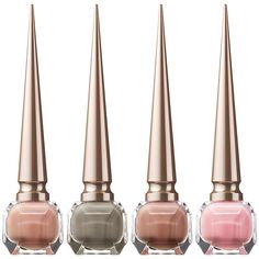 Christian Louboutin Beaute Nail Colour Collection for Fall 2014 Christian Louboutin Store, Louboutin Nail Polish, Becca Highlighter, Makeup Package, Latest Nail Art, Winged Eyeliner, Cool Nail Designs, Gorgeous Nails, Beauty