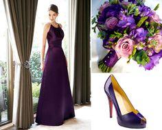 ... purple wedding theme. Unity Bridesmaid Inspiration