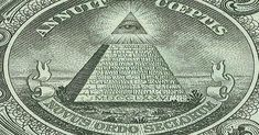 All seeing eye: The Illuminati insignia is on the American dollar bill. Many modern conspiracy theories propose that world events are being . Secret Handshake, American Dollar, Best Mysteries, Mystery Of History, Eye Of Horus, Nikola Tesla, Conspiracy Theories, Ghost Stories, Technology