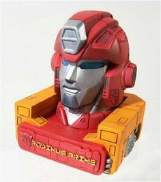 Transformers Rodimus Prime Bust -- Visit the image link more details. Note:It is affiliate link to Amazon.