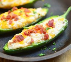 Cheese Stuffed Jalapeno Poppers G and I had a few friends over the weekend and since I expected the usual bacon-wrapped peppers I prepare for parties to go like crazy, I had to figure out a way to ... http://livedan330.com/2015/10/22/cheese-stuffed-jalapeno-poppers/