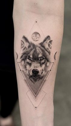 cool wolf tattoo ideas © tattoo artist Miss Trudy ❤❤❤❤❤ wolf tattoo ideas 50 Of The Most Beautiful Wolf Tattoo Designs The Internet Has Ever Seen Wolf Tattoo Forearm, Half Sleeve Tattoos Forearm, Wolf Tattoo Back, Wolf Tattoo Sleeve, Tribal Sleeve Tattoos, Tattoo Wolf, Geometric Wolf Tattoo, Tribal Wolf Tattoo, Wolf Tattoos Men