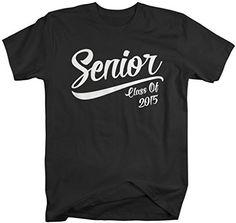 Shirts By Sarah Men's Senior Class 2015 T-Shirt Graduation