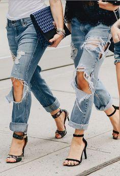 Rock 'n' Roll Style ✯ New York Fashion Week 2014 Streetstyle