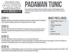 #MyStarWars Weekend Activities - Padawan Tunic | StarWars.com