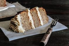 Maple Syrup Cake with Toasted Almonds Recipe