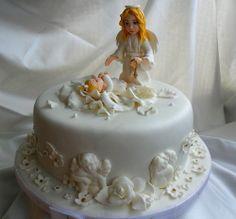 cake for christening-baptism