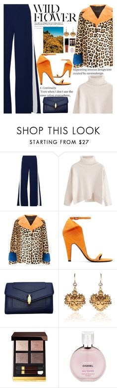 """Untitled #2760"" by anarita11 ❤ liked on Polyvore featuring Norma Kamali, Simonetta Ravizza, Calvin Klein 205W39NYC, Bulgari, Angelo, Dolce&Gabbana, Tom Ford and Chanel"