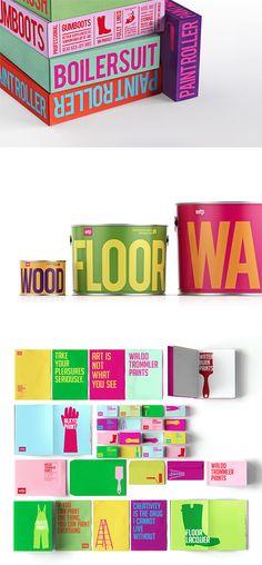 Waldo Trommler Paints Brand Identity by Reynolds & Reyner | Inspiration Grid | Design Inspiration