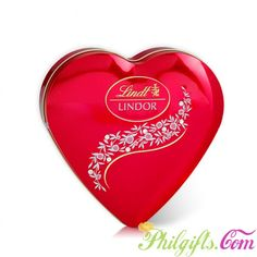Best Gift for Chocolate lover http://www.philgifts.com/lindt-lindor-heart-tin-96g.html