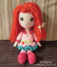 Free Crochet Patterns and Designs by LisaAuch: Crochet an Amigurumi Doll - Links to Free Pattern ...