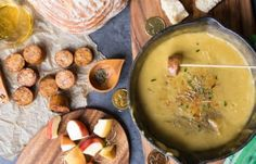 Combine Wine, Whiskey, And Cheese For This Scrumptious Irish Cheddar Fondue