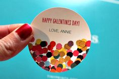 Get inspiration for a girls' night in with these Valentine's Day gifts for the ladies. We love the personalized Tiny Prints stickers.