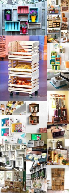 DIY Pallet projects That Are Easy to Make and Sell ! Today we present you one collection of DIY Pallet Projects offer inspiring ideas. Pallet Crafts, Pallet Projects, Home Projects, Upcycling Projects, Pallet Ideas, Wood Crates, Wood Pallets, Pallet Wood, Decoration Palette
