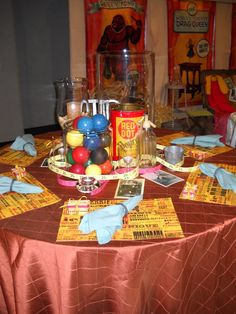 SUBURBAN Spunk*: DIFFA Dining By Design -Sharing the Love Circus Decorations, Share The Love, Red Dots, Dining, Food