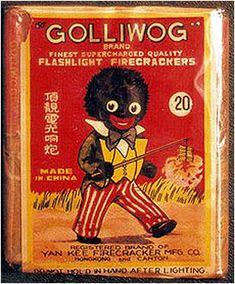 STRANGE FIREWORKS LABELS - GOLLIWOG ...