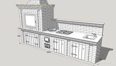Проекты барбекю мангалов из кирпича с казаном в беседке   Печных дел Мастер Bbq Grill, Grilling, Home, Decor, Sodas, Bar Grill, Decoration, Barbecue, Crickets