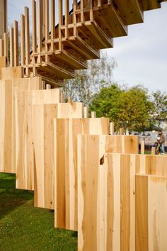 Endless Stair is both a sculpture and research project advancing the knowledge of timber technology and sustainability.