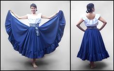 Flamenco Skirt, Ballet Skirt, Folklorico Dresses, Mexican Skirts, Spanish Dress, Prom Dresses, Formal Dresses, Traditional Outfits, Costumes