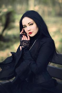 Goth | Gothic | Black | Beauty | Stunning