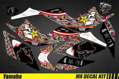 Kit Déco Quad pour / Atv Decal Kit for Yamaha Raptor - BombStick Quad, Yamaha Raptor, Iron Man Birthday, Kit, Decals, Wraps, Motocross Bikes, Tags, Sticker
