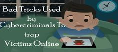 You can find anything on internet including cybercriminals.  There are thousands of ways to trick internet users ranging from legal to illegal. It is the best place to find innocent victims.