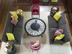 12 Stylish Room Designs Featuring Clocks
