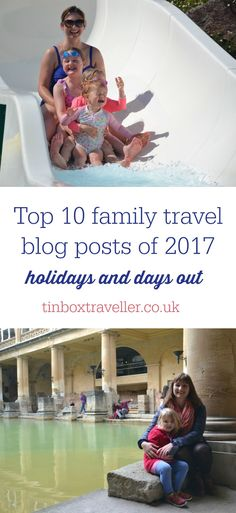The most read family travel blog posts on Tin Box Traveller including holidays, short breaks and days out to inspire your adventures with kids in the year ahead #holidayinspiration #travel #UKtravel #familytravel #travelwithkids