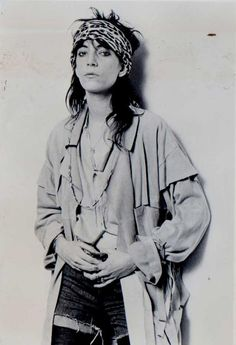 Patti Smith #BabesInBands | I'm With The Band | http://etsy.me/13ezt8u