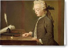 The Child with a Spinning Top, Jean-Baptiste-Simeon Chardin