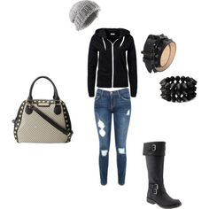 """""""Casual Winter"""" by bmricciardi on Polyvore"""