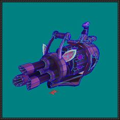 League of Legends - Jinx the Loose Cannon's Pow-Pow Free Papercraft Download - http://www.papercraftsquare.com/league-legends-jinx-loose-cannons-pow-pow-free-papercraft-download.html