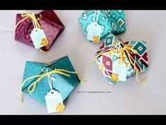 Bourses à offrir en origami - YouTube
