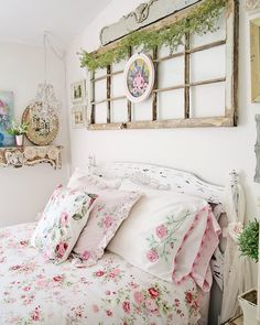 Surround yourself with things that make you happy. Cool Rooms, Home Decor, Bedroom Inspirations, Farmhouse Bedroom Decor, Bedroom Wall, Chic Bedroom Decor, Bedroom Decor, Cute Bedroom Ideas, Shelves In Bedroom