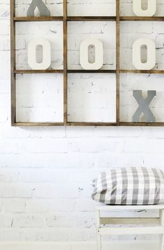 How to Make an Over-sized Tic Tac Toe Board