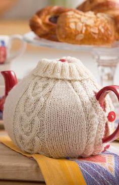 Strickmuster für Teekannenhülle