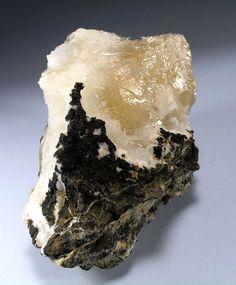 Calcite with Natrolite / Mason County, Washington