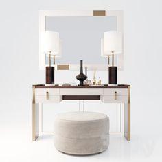 models: Other - Capital Collection Furniture Dressing Table, Luxury Desk, Furniture, Small Balcony Decor, Trending Decor, Interior, Elegant Furniture, Vanity Design, Dressing Room Design