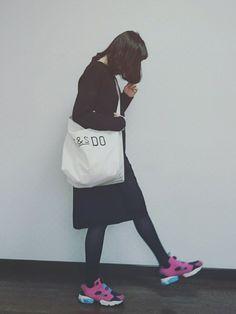 エリカ│Reebokのスニーカーコーディネート-WEAR