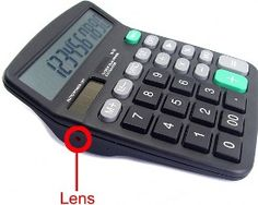 This Spy Gadgets is a calculator with a tiny camera hidden to look like a bolt on the side. The footage from the Spycam can be stored on the 2GB of memory that is available with the use of SD cards. Calculator Spycam also has a working calculator that displays off a standard display – with a 2.4-inch LCD display for your spy footage too