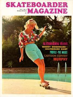 Patti McGee - first female professional skateboarder. McGee was the 1965 Woman's first National Skateboard Champion in Santa Monica. And she is skate boarding barefoot! Skateboards Vintage, Patti Mcgee, Skates Vintage, Boyfriend Look, Moda Retro, Skate Girl, Skateboard Girl, Estilo Retro, Pop Punk