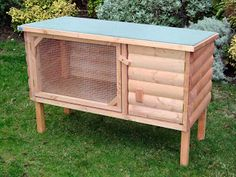 Rabbit Hutch Cage | Free Woodworking Project Plans