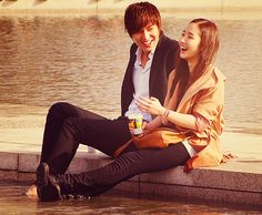 Park Min Young and Lee Min Ho <3