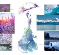 The beauty of nature as it changes seasons is an intriguing inspiration for Swarovski - Innovations Pre-Launch Fall/Winter 2014-2015