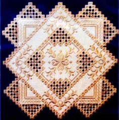 HARDANGER EMBROIDERY BY - EMBROIDERY