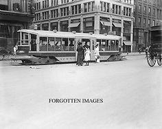 NEW YORK ONE STEP TROLLEY CAR 1910s