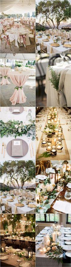 brilliant wedding table decoration ideas for you big day