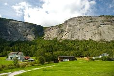 setesdal norway map | Panoramio - Photo of Living under the stone mountain, Setesdal, Norway
